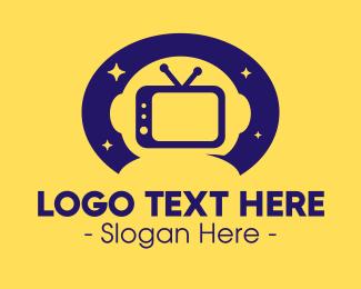 Tv Show - Astro Television logo design