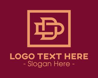D & D Monogram logo design