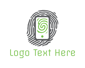 Identification - Phone Print logo design