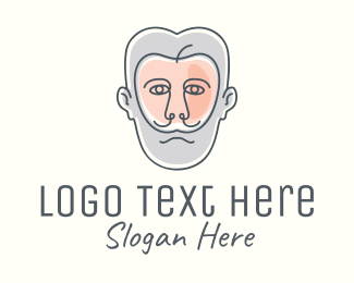 Grooming Products - Hipster Apple Man logo design