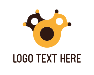 Learning Center - Yellow Toy logo design