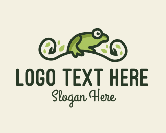 Savannah - Frog Vine logo design