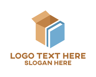Package - Book Packaging Box logo design