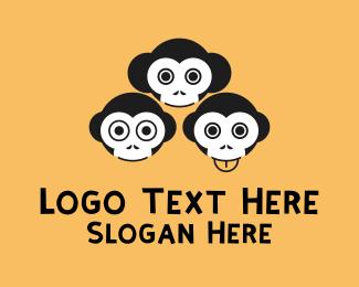 Funny - Funny Monkeys logo design