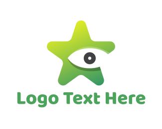 Vision - Star Vision logo design