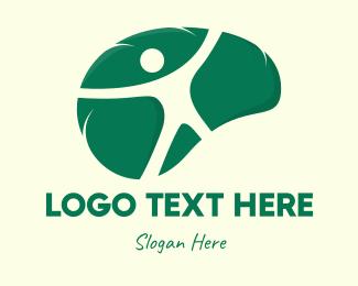 Neurology - Human Pyschology logo design