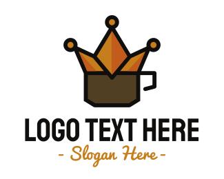 Cafe Latte - Royal Coffee logo design