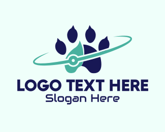 Planetary - Animal Cyber Planet logo design