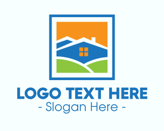 Framing - Picture Frame House logo design