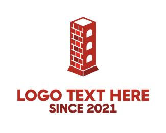 Brick - Chimney Tower logo design