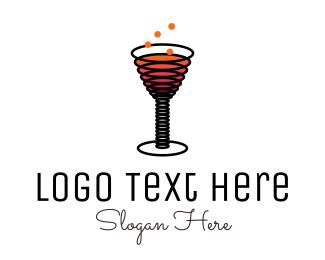 Pub - Sparkling Drink logo design