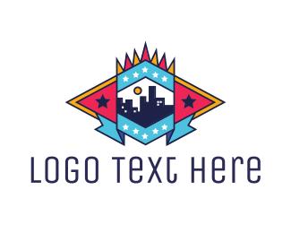 New York - Real Estate Emblem logo design