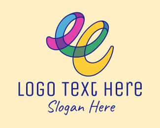 Art - Colorful Art Scribble logo design