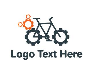 Cogwheel - Bike Garage logo design