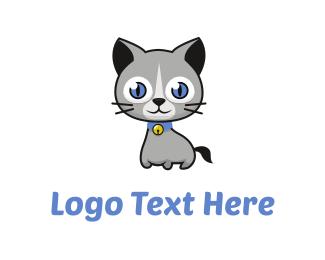"""""""Cute Cat Cartoon"""" by vorbies"""
