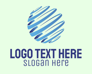 Business - Abstract Global Company  logo design