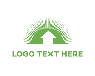 Stream - Green Sunshine logo design