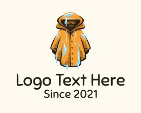 Gaming - Wet Yellow Raincoat logo design