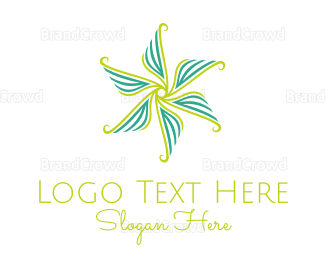 Flower Shop - Flower Rotation logo design