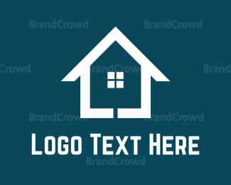 Flooring - White Home logo design