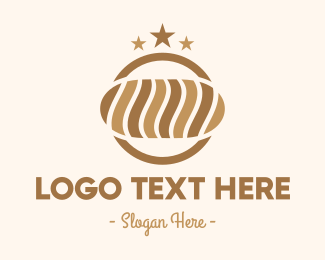 Quality - Bakery Brown Bread Loaf logo design
