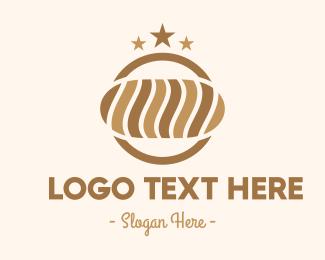 Bakery - Bakery Brown Bread Loaf logo design