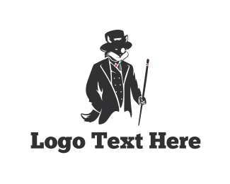 Sir - Elegant Fox logo design