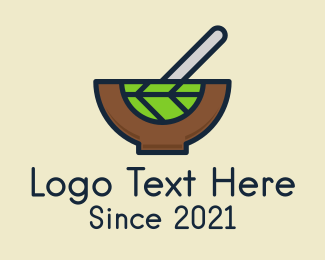 Vegan - Vegan Salad Bowl logo design