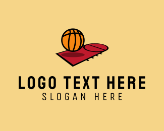 Coaching - Basketball Court logo design
