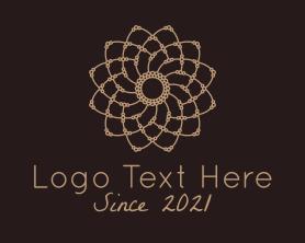 Beauty - Decorative Flower Mandala logo design