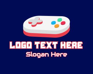 Control Pad - Gaming Control Pad logo design