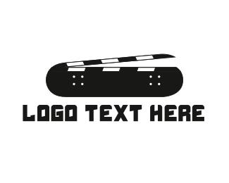 Skateboard - Skateboarding Film logo design