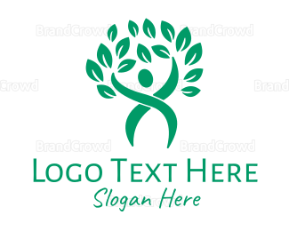 Agricultural - Health and Wellness Tree logo design