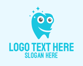 Teeth - Happy Tooth logo design
