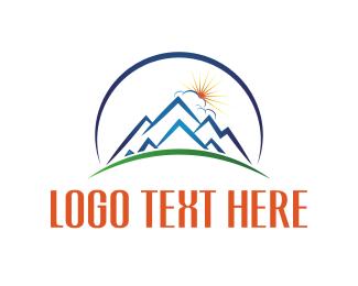 Store - Sunrise Blue Mountain  logo design