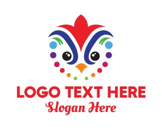 Festival - Colorful Festival Bird logo design