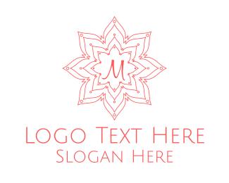 """Floral Stroke Lettermark"" by mareena"