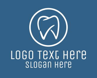 Teeth - Dental Dentist Checkup logo design