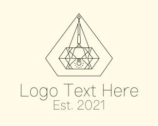 Interior - Diamond Interior Decorator logo design