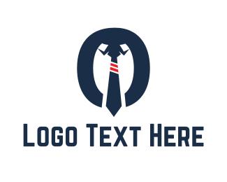 Accountant - Shirt & Tie logo design