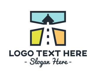 Vacation - Lighthouse Square logo design