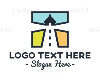 Marine - Lighthouse Square logo design