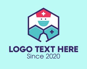 """""""Medical Nurse Doctor Hexagon"""" by town"""