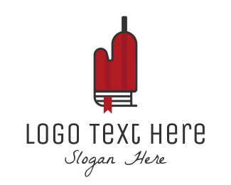 Cook - Recipe Bottle logo design