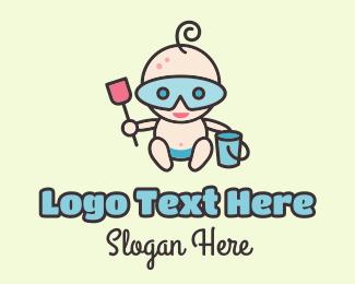 Childhood - Little Sandman logo design