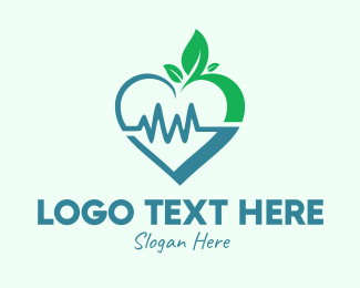 Impulse - Organic Healthy Heart  logo design