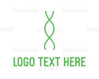 Gene - Green Genetics logo design
