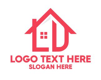 Ld - Red House Real Estate logo design