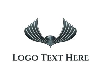 Metallic Bird Logo
