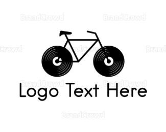 Speaker - Audio Bike logo design